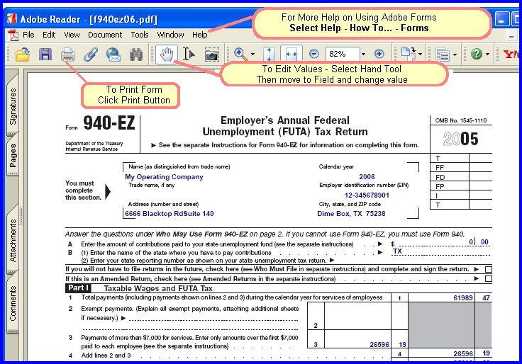 Irs Form 940
